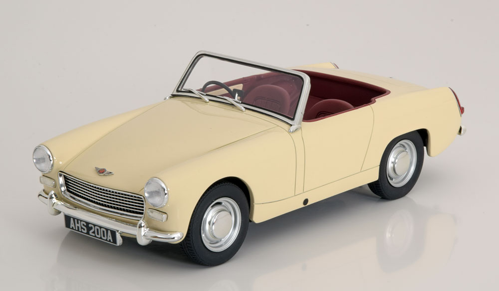 Cult Models カルトモデル 1/18 ミニカー レジン・プロポーションモデル 1959年モデル オースティンヒーリ スプライト スパイダーAUSTIN - HEALEY SPRITE SPIDER OPEN 1959 1:18 Cult Models