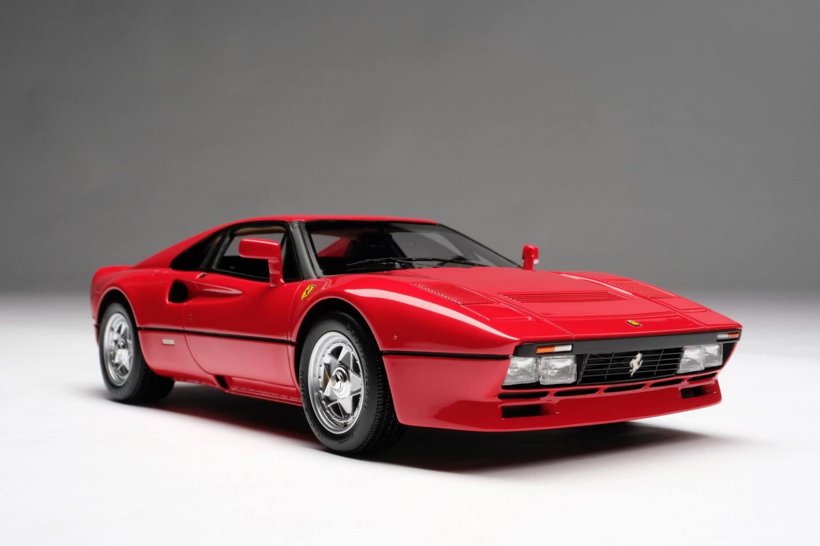 Amalgam Collection アマルガムコレクション 1/18 ミニカー レジン プロポーションモデル 1986年モデル フェラーリ 288 GTO Rosso Corsa レッド1986 Ferrari 288 GTO 1:18 Amalgam Collection