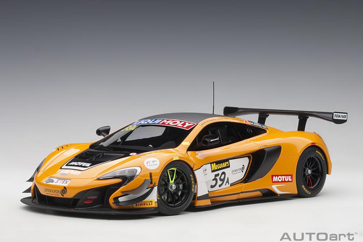 AUTOart オートアート 1/18 コンポジットダイキャストモデル 2016年バサースト12時間優勝モデル マクラーレン 650S GT3 No.59AMcLaren 650S GT3 #59A Winner 12h Bathurst 2016 van Gisbergen, Parente, Webb 1:18 AUTOart