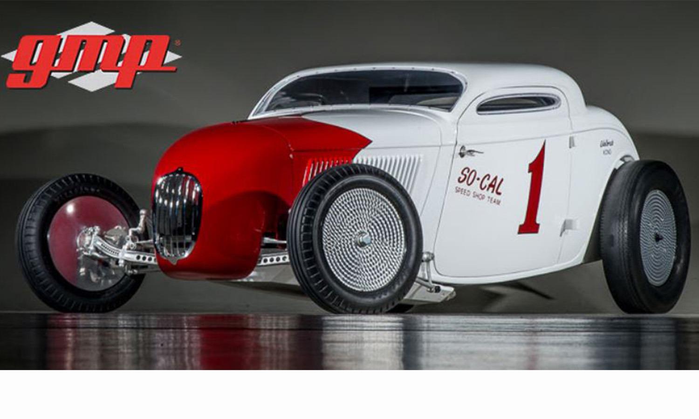 GMP 1/18 ミニカー ダイキャストモデル 1934年モデル SO-CAL Salt Flat Coupe1934 SO-CAL SALT FLAT COUPE 1:18 GMP