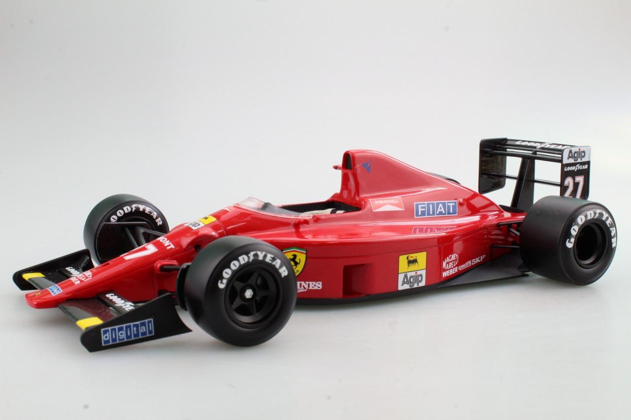 GP Replicas 1/18 ミニカー レジン プロポーションモデル 1989年シーズン フェラーリ F1-89 640FERRARI - F1 640 F1-89 SEASON 1989 1:18 GP Replicas