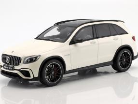 ディーラーモデル 1/18 ミニカー レジン プロポーションモデル 2018年モデル メルセデスベンツ AMG GLC 63 ダイヤモンドホワイト2018 Mercedes-Benz AMG GLC 63 SUV designo diamond white bright 1:18 Mercedes Benz AG