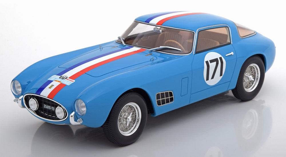 CMR 1/18 ミニカー レジン プロポーションモデル1957年ツール・ド・フランス フェラーリ 250 GT ベルリネッタ コンペティショーネ No.171Ferrari 250 GT Berlinetta Competizione #171 5th Tour de France 1957 Peron 1:18 CMR
