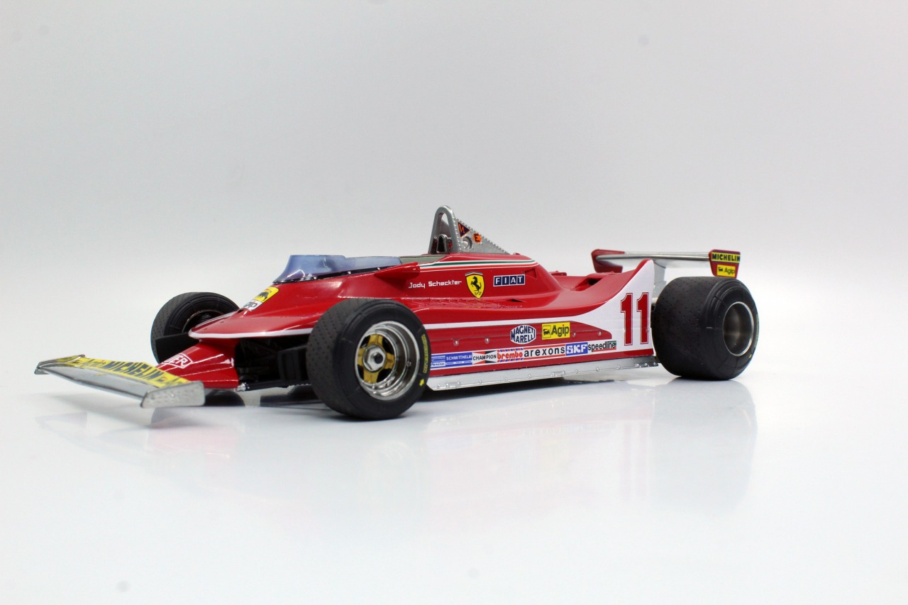 GP Replicas 1/18 ミニカー レジン プロポーションモデル 1979年シーズン フェラーリ F1 312T4 FERRARI - F1 312T4 1979 1:18 GP Replicas