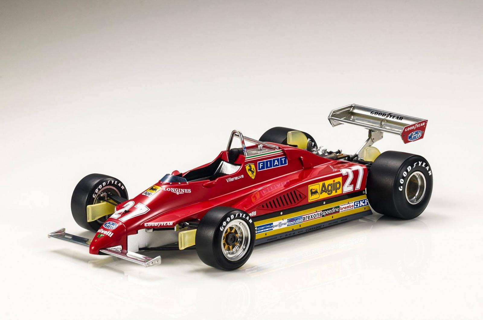 GP Replicas 1/18 ミニカー レジン・プロポーションモデル 1982年シーズン フェラーリ 126 C2Ferrari 126 C2 1982 1:18 GP Replicas