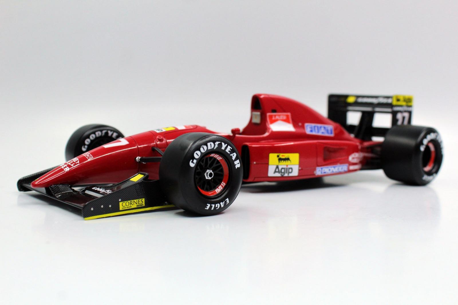 GP Replicas 1/18 ミニカー レジン プロポーションモデル 1992年シーズン フェラーリ F1 F92AGP-REPLICAS - 1/18 - FERRARI - F1 F92A SEASON 1992