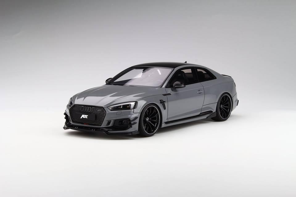 GT Spirit 1/18 ミニカー レジン プロポーションモデル 2018年モデル アプト ABT RS5-R グレー2018 ABT RS5-R 1:18 Grey by GT Spirit