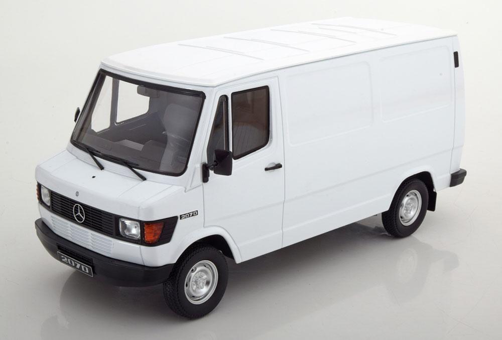 KK Scale 1/18 ミニカー ダイキャストモデル 1988年モデル メルセデスベンツ 207/208D Van1988 Mercedes 207/208D Van 1:18 KK Scale