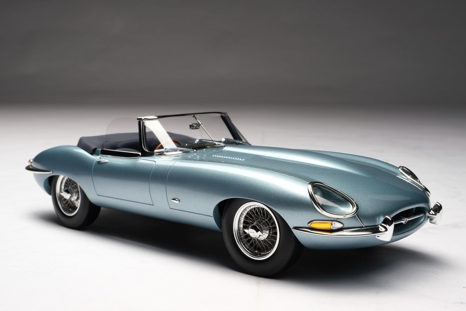Amalgam Collection アマルガムコレクション 1/18 ミニカー レジン プロポーションモデル 1965年モデル ジャガー E-Type ロードスター 1965 Jaguar E-Type Roaster 1:18 by Amalgam Collection