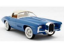 Matrix 1/18 ミニカー レジン プロポーションモデル 1966年モデル ブガッティ Type 101C クーペ ブルー BUGATTI - T101C sn101506 EXNER GHIA SPIDER 1966 1/18 Model Car by Matrix