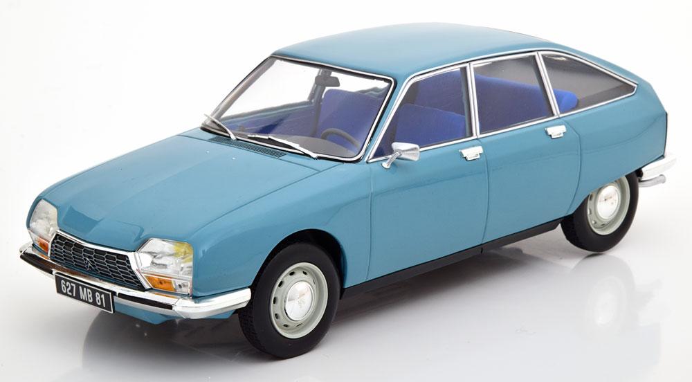 Norev ノレヴ 1/18 ミニカー ダイキャストモデル 1972年モデル シトロエン GS Club ブルーCITROEN - GS CLUB 1972 1:18 Norev