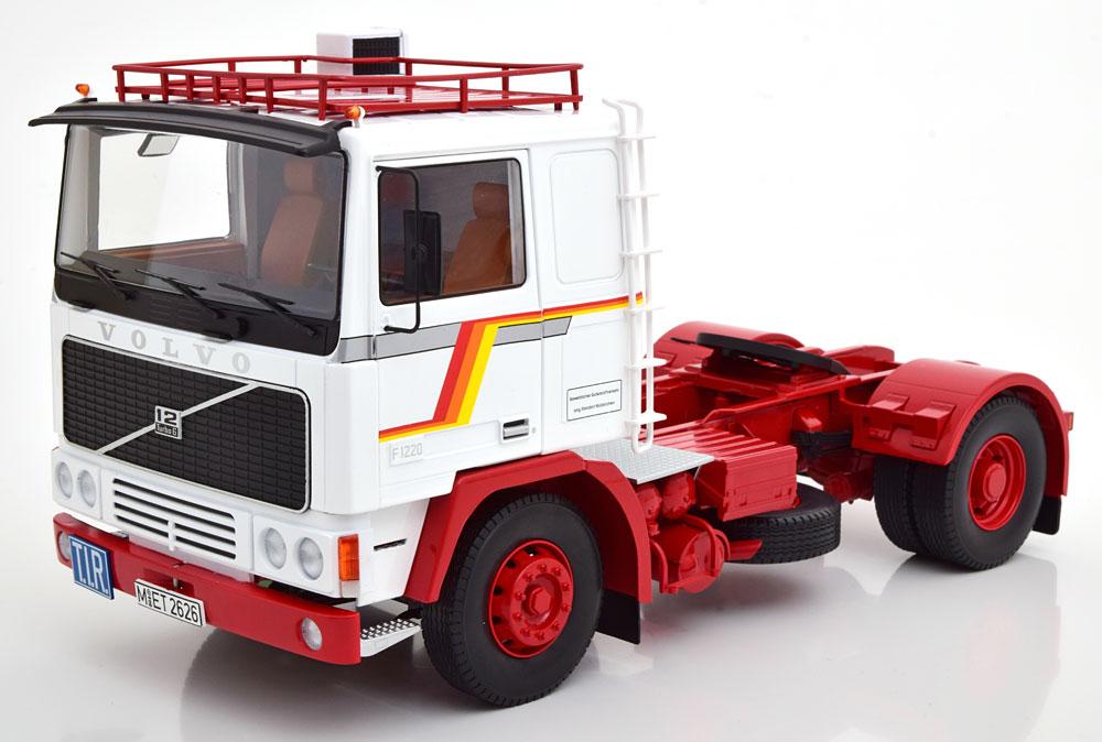 Road Kings 1/18 ミニカー ダイキャストモデル 1977年モデル ボルボ F12 Tractor TruckVOLVO - F12 TRACTOR TRUCK 1977 1:18 Road Kings