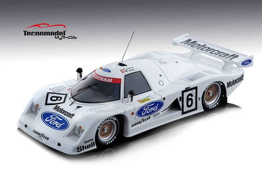 Tecnomodel テクノモデル 1/18 ミニカー レジン プロポーションモデル 1982年シーズン フォード C100 Cosworth 4.0L V81982 Ford C100 Cosworth 4.0L V8 1:18 Tecnomodel