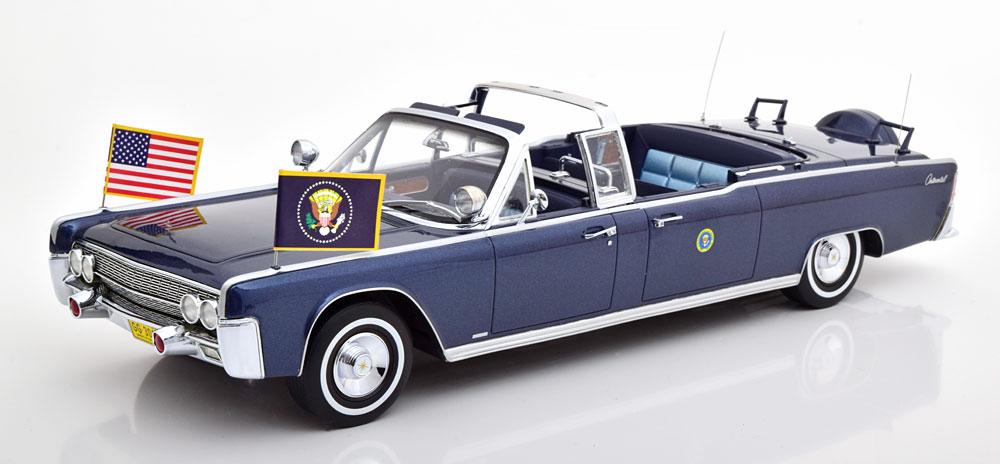 CMF 1/18 ミニカー レジン プロポーションモデル 1961年モデル リンカーン ケネディ大統領専用車LINCOLN - PRESIDENTIAL CONTINENTAL SS-100-X JOHN F.KENNEDY 1961 1:18 CMF