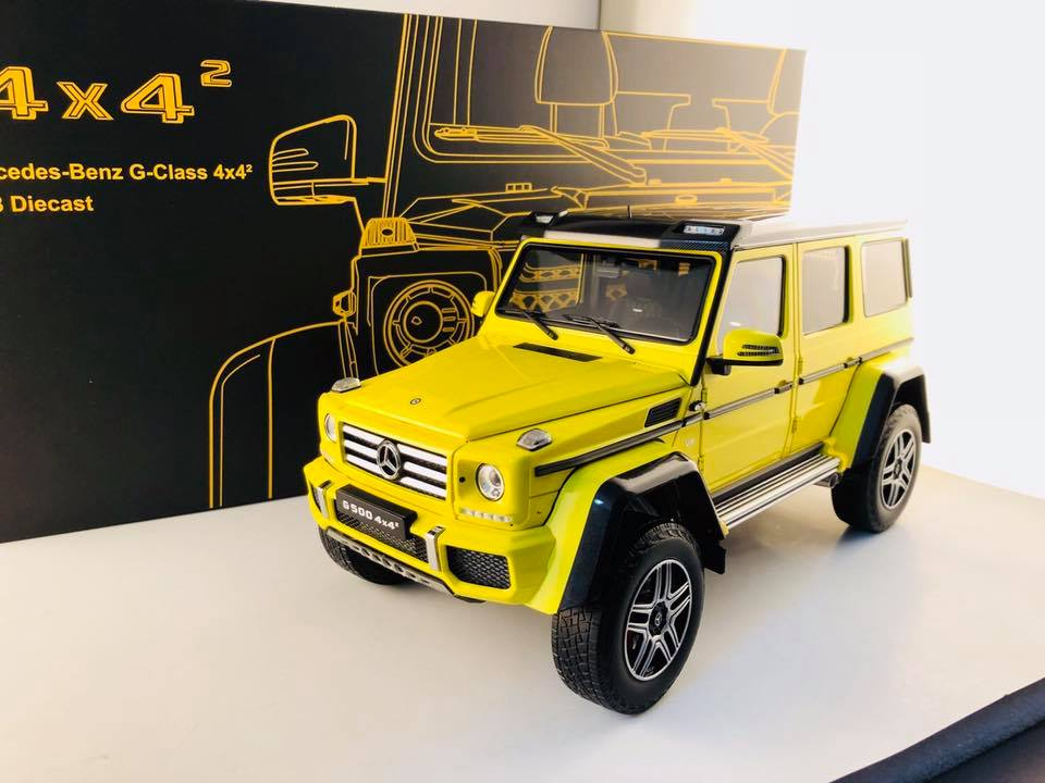 Almost Real 1:18 2017年モデル メルセデスベンツ G500 フォー・バイ・フォー スクエアード2017 Mercedes Benz G500 4x4 1/18 by Almost Real NEW