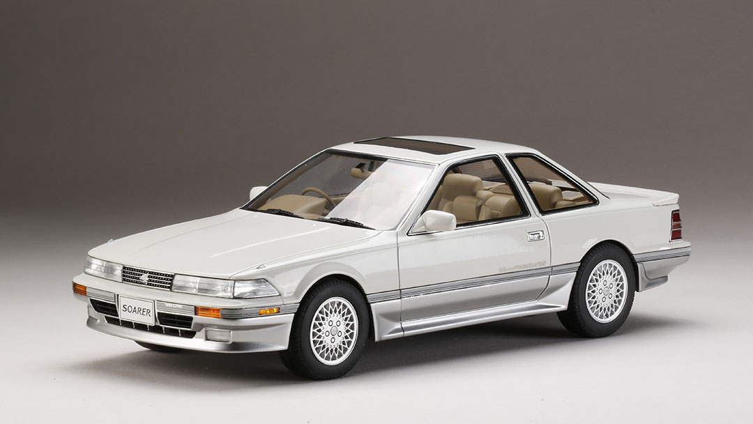 Hobby Japan 1:18 1988年モデル トヨタ ソアラ 2.0GT Twin Turbo L GZ20 シルキーエレガントトーニング1988 Toyota Soarer 2.0GT Twin Turbo GZ20 1/18 by Hobby Japan JPN