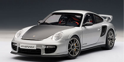 AUTOart オートアート 1:18 2008年モデル ポルシェ 911 (997) GT2 RS2008 Porsche 911 GT2 RS 1/18 by AUTOart