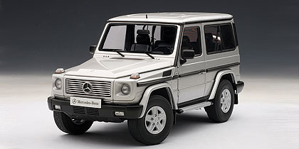 AUTOart オートアート 1:18 1998年モデル メルセデス ベン G5001998 Merceds Benz G500 1/18 by AUTOart