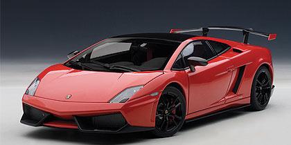 2011年モデル ランボルギーニ ガヤルド LP570-4 スーパートロフェオ ストラダーレ2011 Lamborghini Gallardo LP570-4 1/18 by AUTOart