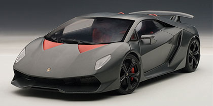 2010年モデル ランボルギーニ セスト エレメント (カーボングレー)2010 Lamborghini Sesto Elemento 1/18 by AUTOart オートアート