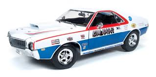 Autoworld オートワールド 1:18 1969年モデル AMC AMX S/S Kim Nagel1969 AMC AMX S/S 1/18 by Autoworld USA