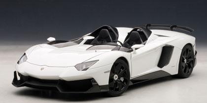 2012年モデル ランボルギーニ アヴェンタドール J2012 Lamborghini Aventador J 1/18 by AUTOart オートアート