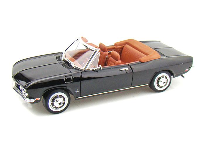 路签名模型 1:18 1969年雪佛兰科尔伯特蒙扎可转换 1969年雪佛兰科维尔蒙扎 1 / 18 的幸运压铸