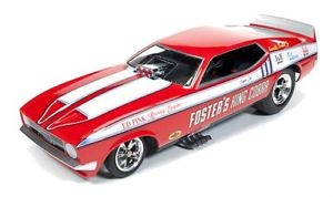 Autoworld オートワールド 1:18 1972年 フォード マスタング NHRA Funny Car Auto World 1972 Fosters King Cobra Mustang Funny Car (Legends of 1/4 mile) 1:18 Scale Diecast