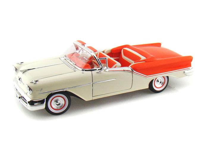 1957年モデル オールズモビル スーパー88 コンバーティブル1957 Oldsmobile Super 88 1/18 by Lucky Diecast USA