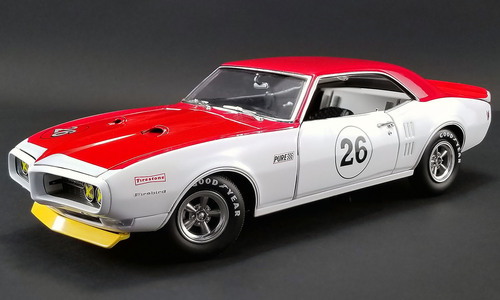 ACME 1:18 1968年モデル ポンティアック トランザム ファイアバード No.26 Jerry Titus1968 Pontiac Trans Am Firefird No.26 Jerry Titus 1/18 by ACME