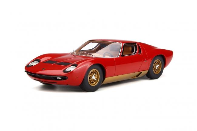GT Spirit 1:18 1969年モデル ランボルギーニ ミウラ P400S レッド1969 LAMBORGHINI MIURA P400S 1/18 by GT Spirit NEW