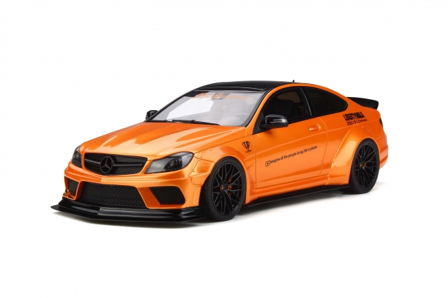 GT Spirit 1:18 2017年モデル LB Works C63 オレンジ2017 LB WORKS C63 1/18 by GT Spirit NEW