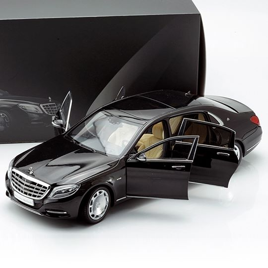 Almost Real 1:18スケール 2016年モデル メルセデス マイバッハ S Class2016 Mercedes Maybach S Class 1/18 by Almost Real