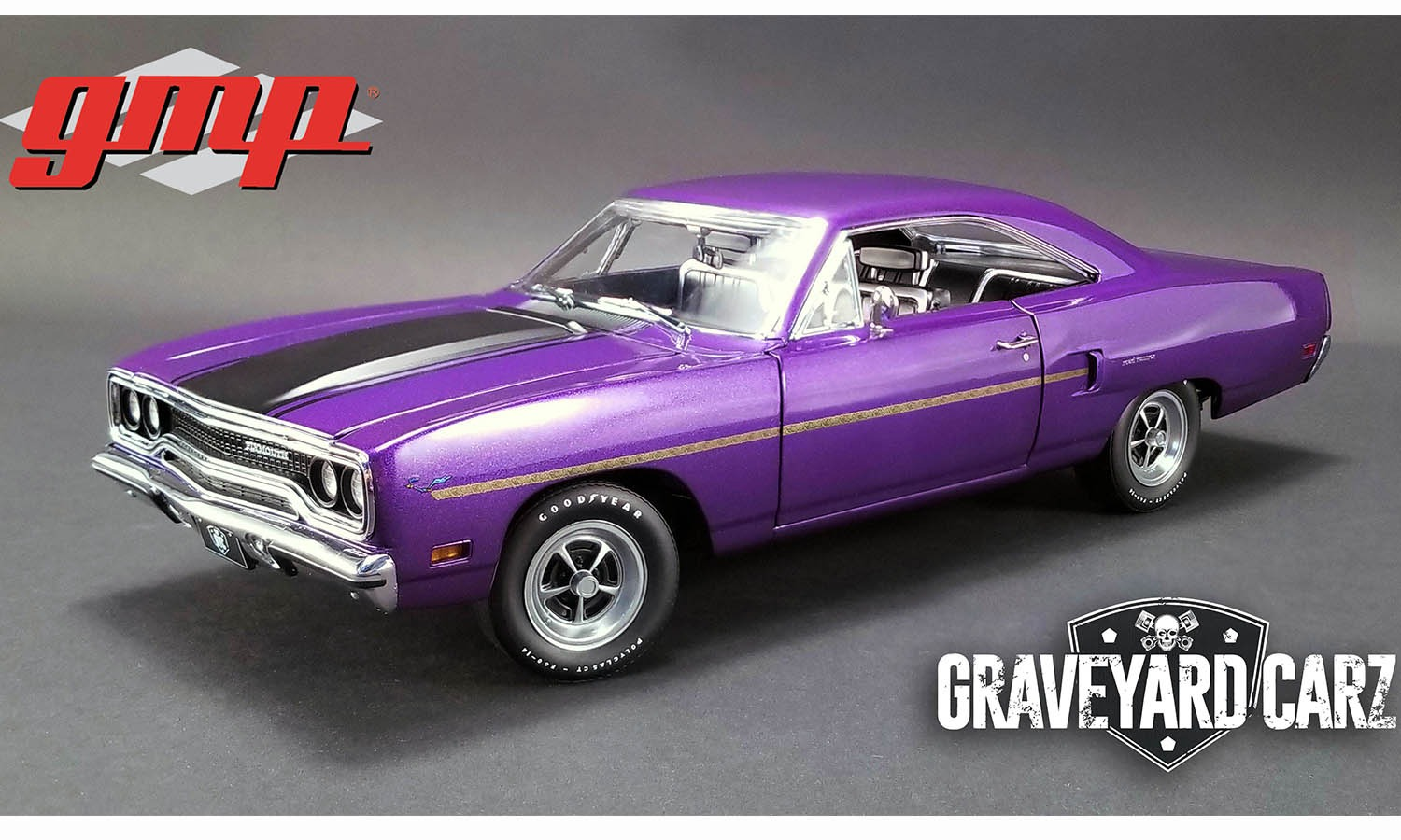 GMP 1:18 1970年モデル プリムス ロードランナー 2012 TV Drama Graveyard Carz1970 Plymouth Road Runner 1/18 Graveyard Carz by GMP