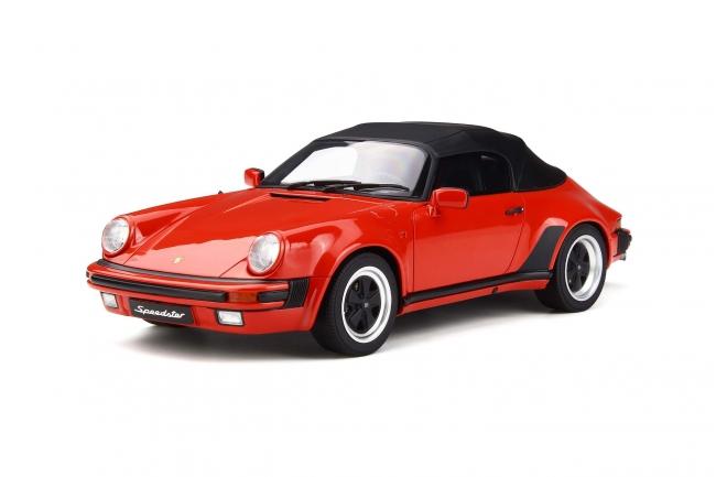 GT Spirit 1:18 1989年モデル ポルシェ 911 3.2 スピードスター レッド1989 PORSCHE 911 3.2 SPEEDSTER 1/18 by GT Spirit NEW