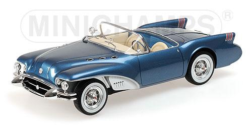 ミニチャンプス 1:18 1954年モデル ビュイック ワイルドキャット II コンセプトBUICK WILDCAT II CONCEPT - 1954 L.E. 999 pcs.