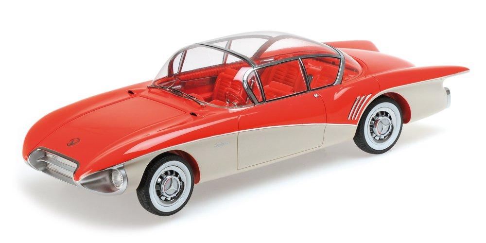 ミニチャンプス 1:18 1956年モデル ビュイック センチュリオン コンセプトBUICK CENTURION CONCEPT - 1956 L.E. 999 pcs.