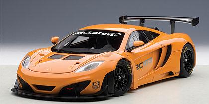 AUTOart 1:18 2012年モデル マクラーレン MP4-12C GT3 プリゼンテーションカー メタリック・オレンジ2012 McLaren MP4-12C GT3 1/18 by AUTOart オートアート