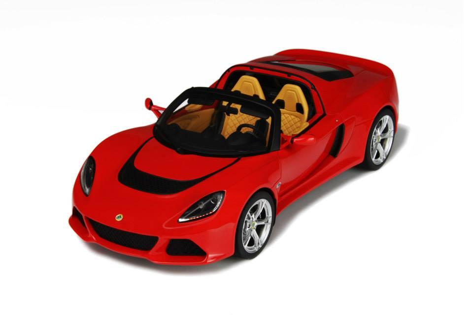 GT Spirit 1:18 2011年モデル ロータス エキシージ S3 ロードスター レッド2011 LOTUS EXIGE S3 Roadster 1/18