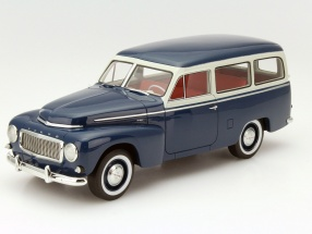 BoS 1:18 1956年モデル ボルボ PV445 ドゥエット Volvo PV445 Duett Year 1956 dark blue / light gray 1:18 BoS-Models