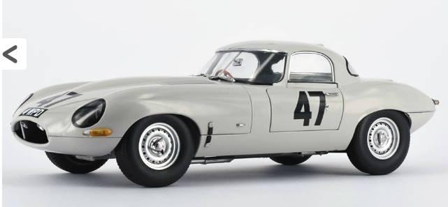 Paragon Models パラゴンモデル 1:18スケール 1963年モデル ジャガー Eタイプ ライトウエイト1963 Jaguar Lightweight E-Type 1/18 Diecast Model Car by Paragon