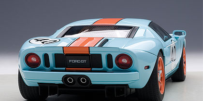 Autoart   Model Ford Gt Gulf Color   Ford Gt