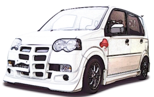 ONLY ONE AERO軽自動車用フロントバンパー