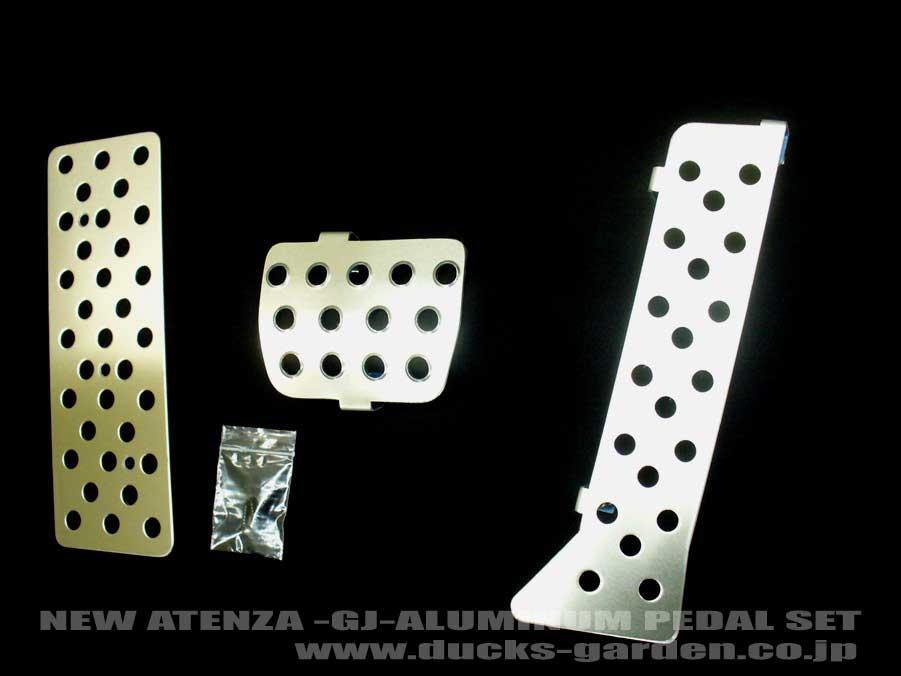 新発売!ダックスガーデン製MAZDA6 マツダ アテンザ(GJ)AT専用設計のアルミペダル3点セット+KTCドライバー・smtg0401 02P01Mar15 532P26Feb16