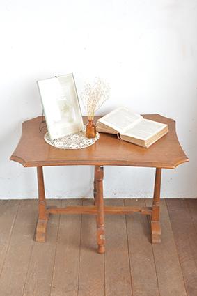 折りたたみ式テーブル/イギリス/アンティーク/机