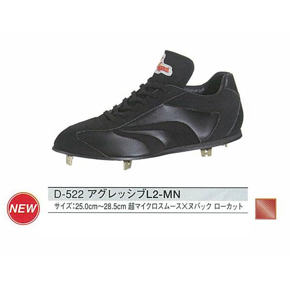 久保田スラッガー スパイク アグレッシブL2-MND-522