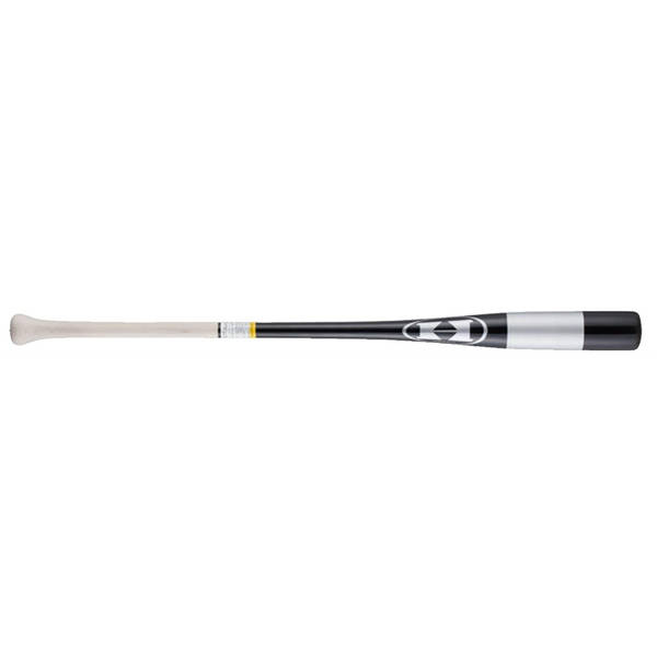 ハイゴールド 野球 バット 木製 フィンガーノックバット(硬式・軟式) 朴×打球部メイプル加工 KB-91TBK