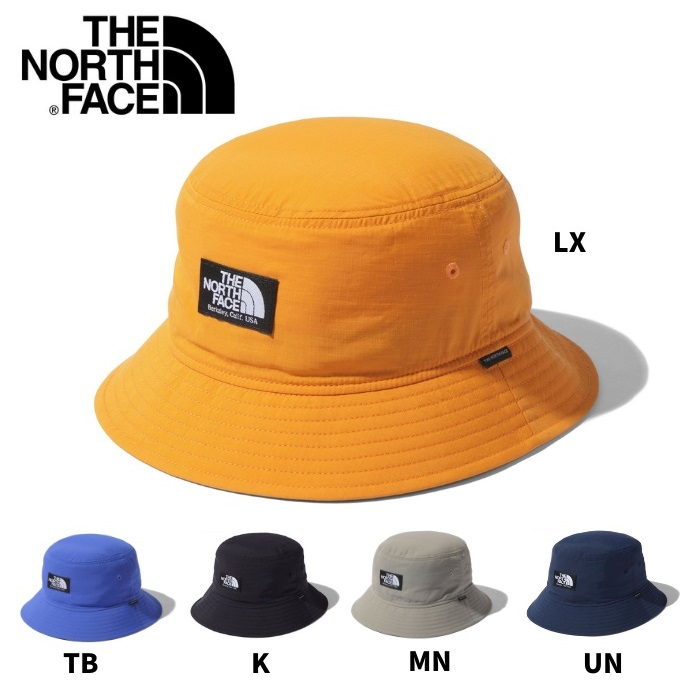 紫外線カット 日よけにも ノースフェイス 帽子 キャンプサイドハット ユニセックス UVケア 海外輸入 日よけ メンズ FACE バケットハット アウトドア 送料無料でお届けします NN41906 NORTH 紫外線対策 レディース THE