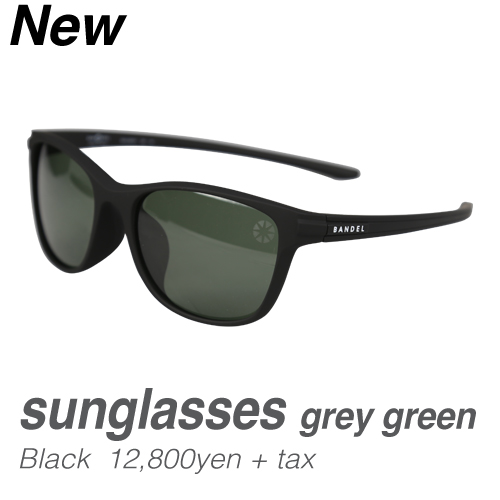 バンデル sunglasses greygreen(BAN-SG001) Black