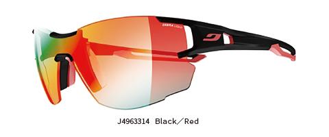 Julbo(ジュルボ) AEROLITE エアロライト Black/Red